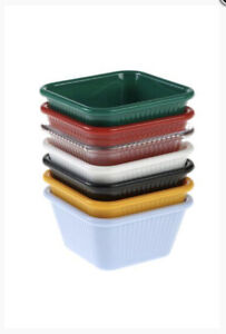 Pack of 4 Square Dipping Bowls for Sauces|Mayonnaise,Mustards,Ketchup Sauce Bowl