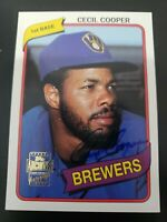 2003 Topps Archives Fan Favorites #FFA-CC CECIL COOPER Auto Milwaukee Brewers