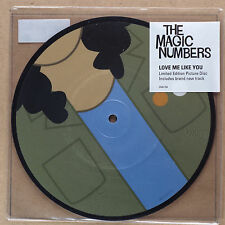 """THE MAGIC NUMBERS - Love me like you ltd 7""""-Vinyl Picture Disc***NEW***"""