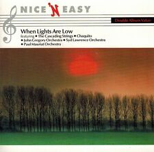 Various Artists - When Lights are Low (CD)