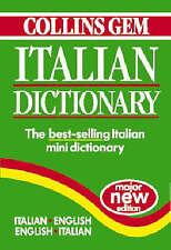 Italian Dictionary (Collins Gem) (Collins Gems),  , Good, FAST Delivery