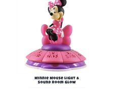 Disney Minnie Mouse Figural Night Light - Peachtree Playthings, Auto-Shut Off