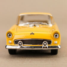 1955 Ford Thunderbird Collectible Model Car Yellow 1:36 Die-Cast 12.5cm Detailed
