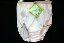 Girls Nos Sz 2 Vtg 60s Nylon Satinette Granny Panties Briefs Undies Child Baby