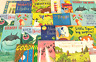 Childrens Fiction Picture Books Bundle of 10 Large Used Books | Wholesale Price!