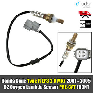 For Honda Civic Type R EP3 2.0 MK7 01-05 Oxygen O2 Lambda Sensor PRE-CAT FRONT