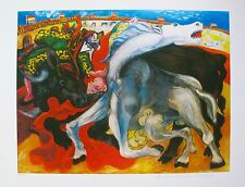 Pablo Picasso BULLFIGHT TOREADOR Estate Signed & Stamped Limited Edition Giclee