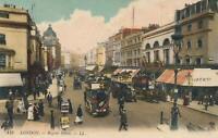 VINTAGE REGENT STREET LONDON POSTCARD - UNUSED - TIVOLI, LIBERTY STORE