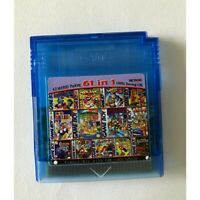 61 in 1 Game Boy Color GBC Nintendo Multicart Super Mario Land Golden