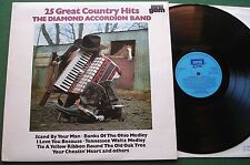 The Diamond Accordion Band 25 Country Hits inc Stand By Your Man + GES 1145 LP