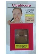 Cicatricure Makeup hides wrinkles NATURAL tone Maquillaje polvo unisex 10g