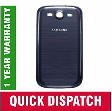 SAMSUNG I9300 GALAXY S3 SIII BATTERIA BACK COVER POSTERIORE PORTA Pebble Blu