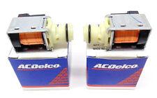 4L60E 4L65E 1-2 2-3 A & B Shift Solenoid 93-up AC Delco Set of 2 fits GM 99263-2
