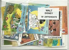 "Lot  timbres thematique "" Disney """