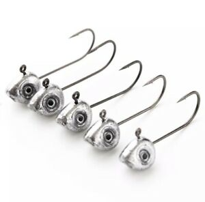 25 Pack The Best Crappie Jig Heads, Pick your size, 1/32, 1/16 or 1/8, Lead