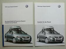 Prospekt Volkswagen VW Passat Zubehör, 4.2005, 16 Seiten + Preisliste