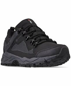 Fila Men's Switchback 2 Water Proof Hiking Shoe Black/Grey