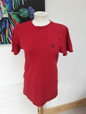 Timberland T-Shirt - Men's Small S - Red