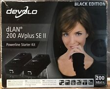 Devolo DLAN 200 AVplus SE 2 Black Edition