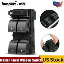 Master Power Window Switch for Chevrolet Silverado GMC Sierra Driver Side 4 Door