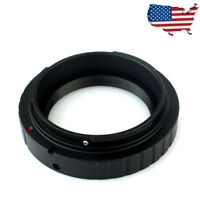 DSLR M42x0.75mm Camera T2 Mount Adapter For Canon EOS Camera Telescope US STOCK