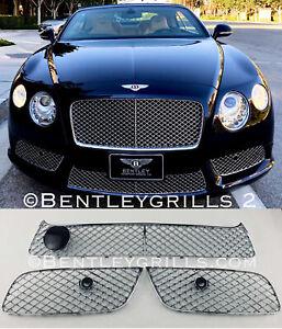Bentley GTV8 GTC V8 Chrom Grills Komplette Oben und Unten 5tlg Satz MANSORY