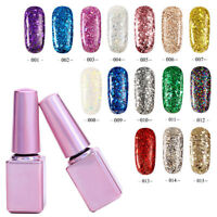 Glitter Sequin UV Gel Nail Polish Varnish Soak Off Manicure UV LED Nail Art Hot