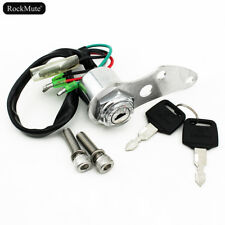 4 Wires Ignition Switch Key Lock Set For Suzuki DR-Z 400S DRZ400SM DR-Z/DR 250