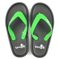 Sanuk Sidewalker Wide Flip Flops Sandals Mens Sz 12 Womens Sz 13 Green 1095551