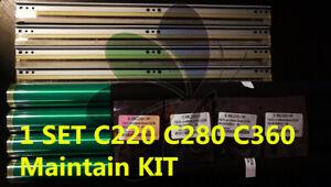 4 Drum KONICA Bizhub C220 c280 c360 + 4 drum chip + 4 blade DR311