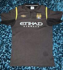Manchester City Away Shirt 2009-10 Size Kids 158 12-13 Years Umbro