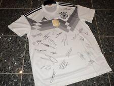 "Dfb Alemania WM 2018 camiseta; equipo autografiada ""charity"""