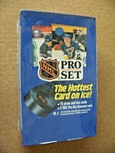 1990 Pro Set Series 1 NHL factory sealed original box sports cards 36 pks hockey
