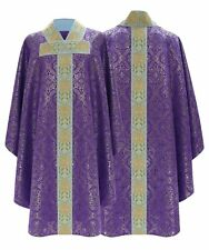 Purple Gothic Chasuble with matching stole 777-F14 us