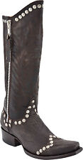 New in Box Old Gringo Womens Rockrazz Boots Chocolate Brown Studded L598-3 $ 325