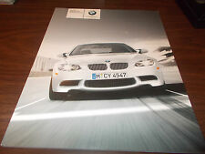 2008 BMW M3 Coupe/Convertible/Sedan 60-Page Deluxe Sales Catalog