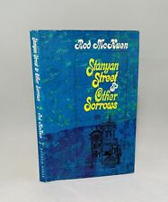 Stanyan Street & Other Sorrows-Rod McKuen-SIGNED-INSCRIBED-DATED-First/1st/4th