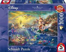 Disney Little Mermaid by Thomas Kinkade - Schmidt Puzzle 1000 Piece Brand New