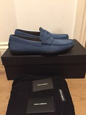 DOLCE & GABBANA Ragusa Driving Shoes Moccasins Loafers Size UK 7/EU 41
