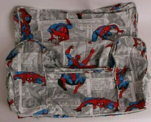 New Pottery Barn Kids Spiderman Comic anywhere chair slip cover *regular sz*