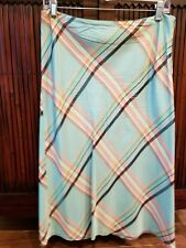 Gorgeous French Connection multicolor lined Skirt Size 10