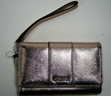 Guess Women's Ware SLG Wristlet Wallet Rose Gold EE509242