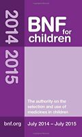 BNF for Children (BNFC) 2014-2015,Paediatric Formulary Committee