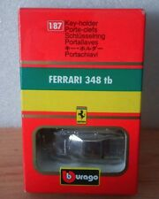 Ferrari 348 tb (1989) bburago llavero key-holder escala 1/87 portallaves coche