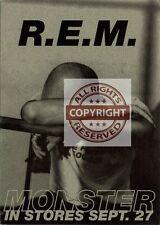 R.E.M. Fanclub Postcard Monster Released September 27th