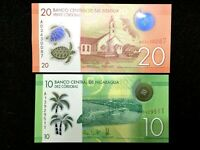 NICARAGUA 20 and 10 Centavos Banknote World Paper Money UNC - Collectors Bill