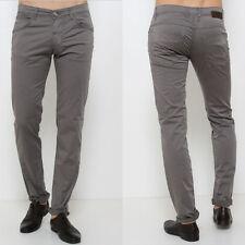 Pantalone UOMO ERROL C461 Col. G089 FIFTY FOUR Grigio MAN Slim FIT 30 31 38