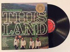 1964 The Jordanaires THIS LAND vinyl LP Classic southern gospel NM Elvis Presley