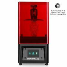 ELEGOO Mars UV Photocuring LCD 3D Printer with 3.5'' Smart Touch Color Screen