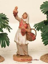 "FONTANINI DEPOSE ITALY 2.5"" CARMI NATIVITY VILLAGE FIGURE NEW ARRIVAL"